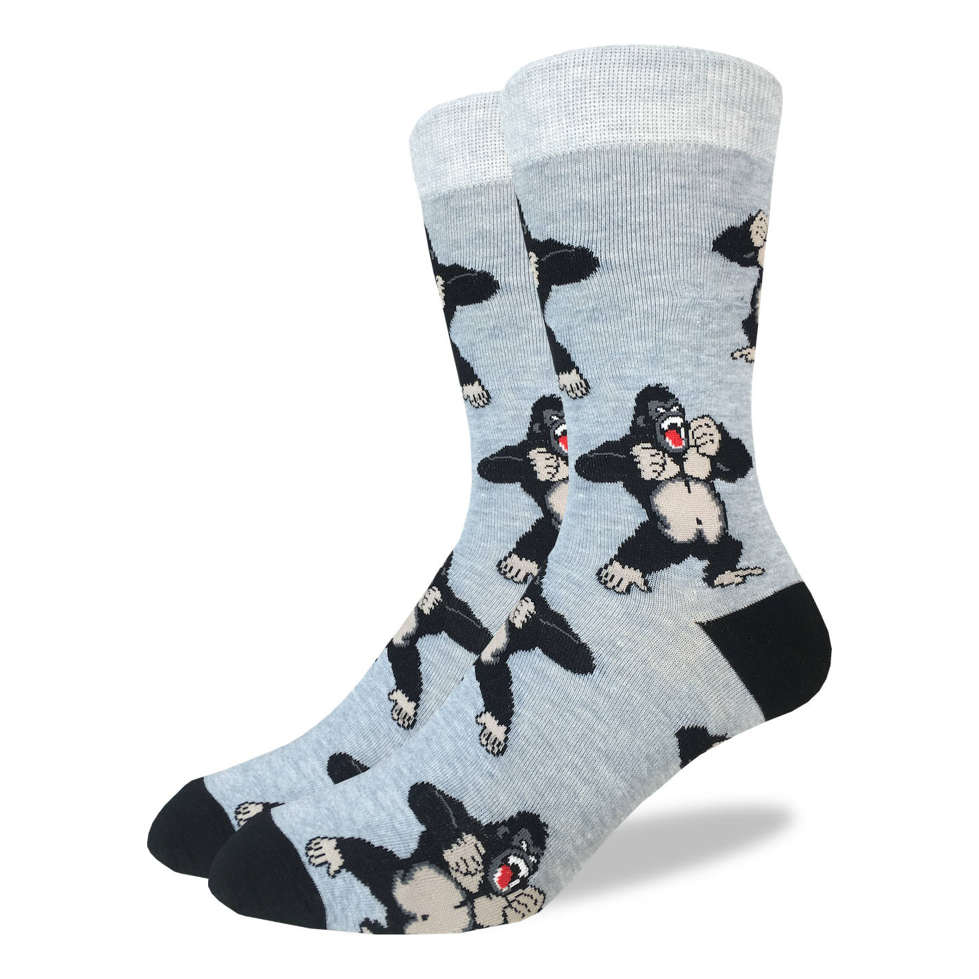 Men's Gorilla Socks - Good Luck Sock