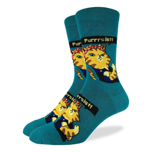 Men's Purrsist Cat Socks