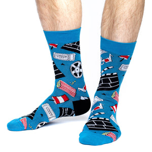 Men's Hollywood Movies Socks