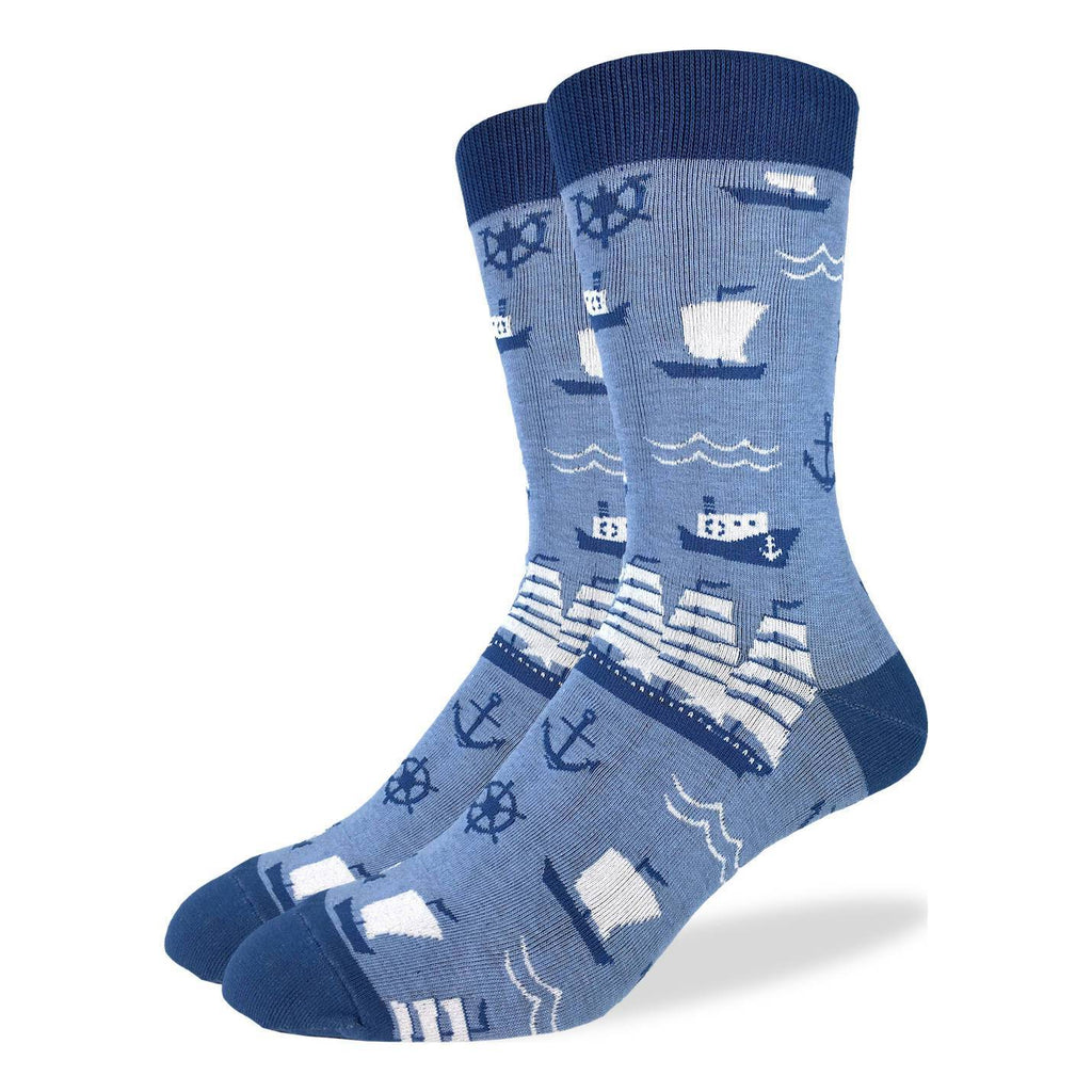 Men's Sailing Ships Socks