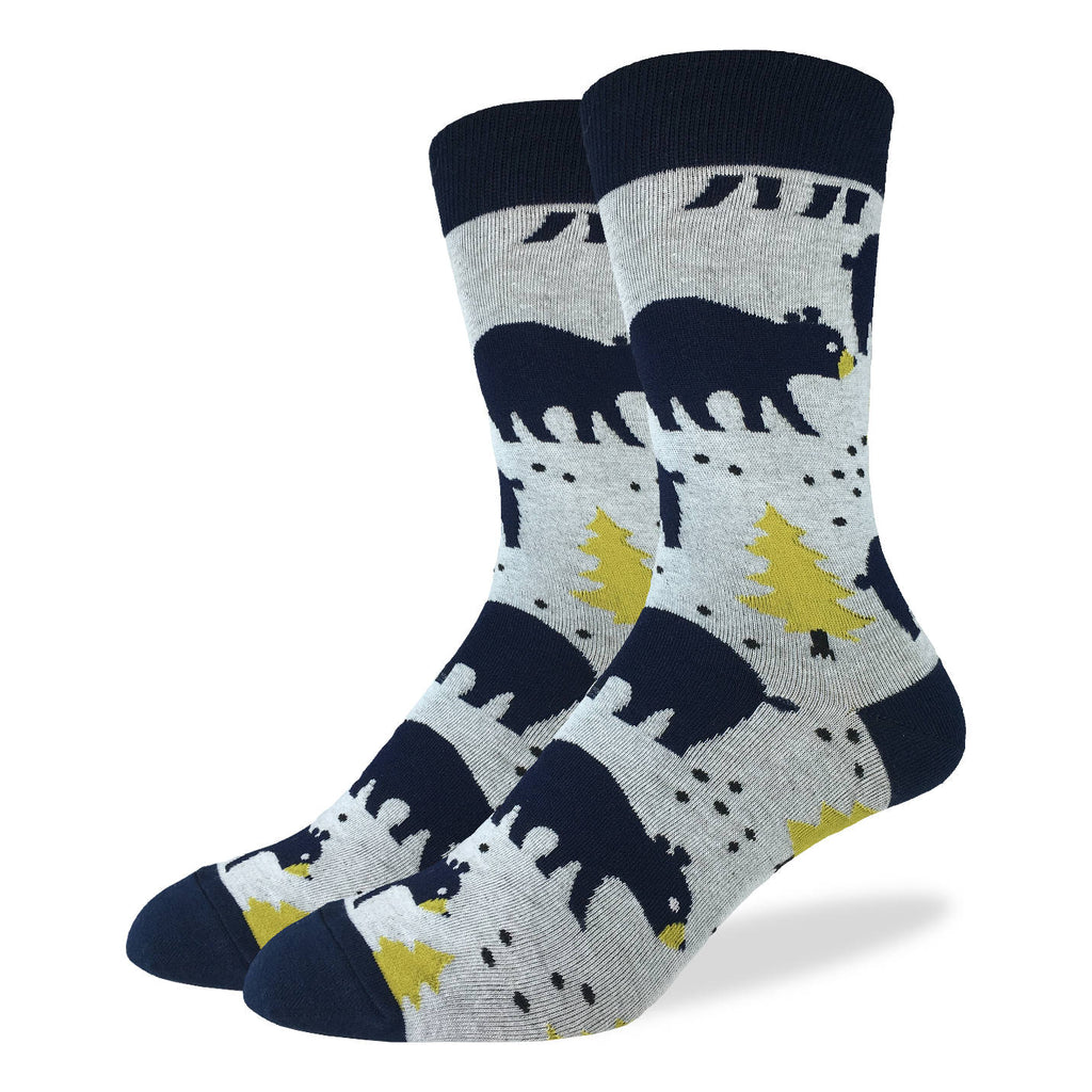 Men's Bears in the Forest Socks