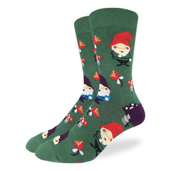 Men's Lawn Gnomes Socks - Good Luck Sock