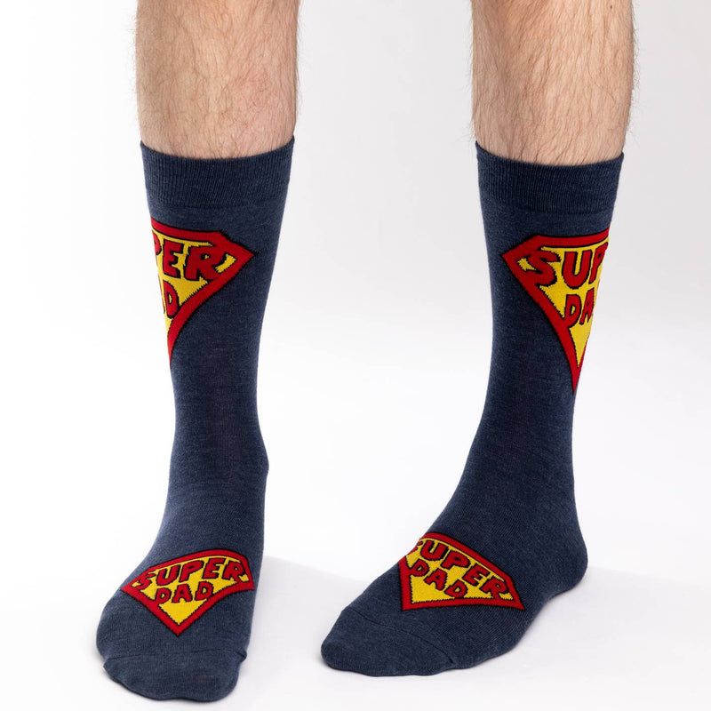 Men's King Size Super Dad Socks