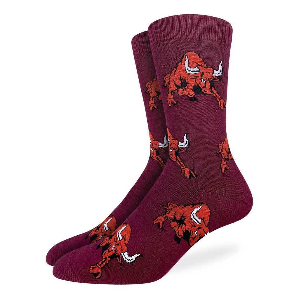 Men's King Size Raging Bull Socks