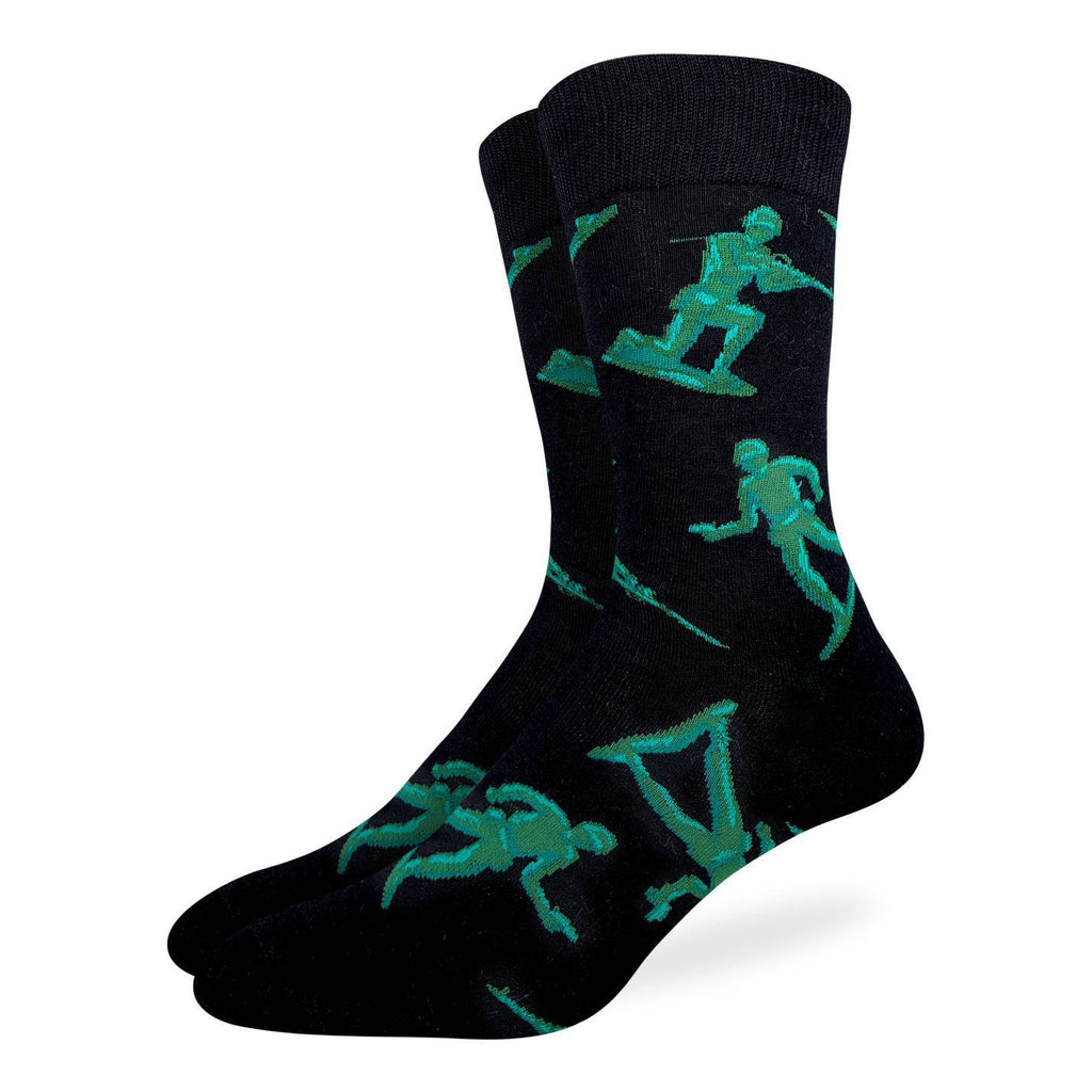 Men's King Size Toy Soldiers Socks