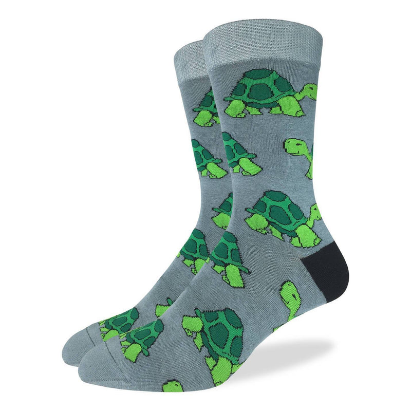 Men's King Size Turtle Socks