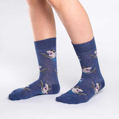 Women's Sharks Socks - Good Luck Sock