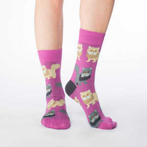 Women's Persian Cat Socks