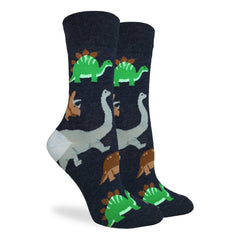Women's Jurassic Dinosaur Socks - Good Luck Sock