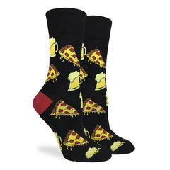 Women's Pizza & Beer Socks - Good Luck Sock