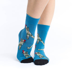 Women's Fighter Jets Socks