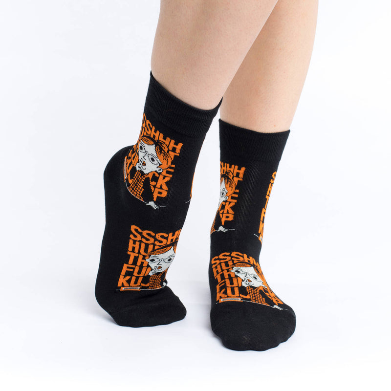 Women's Shut The &%*$ Up Socks