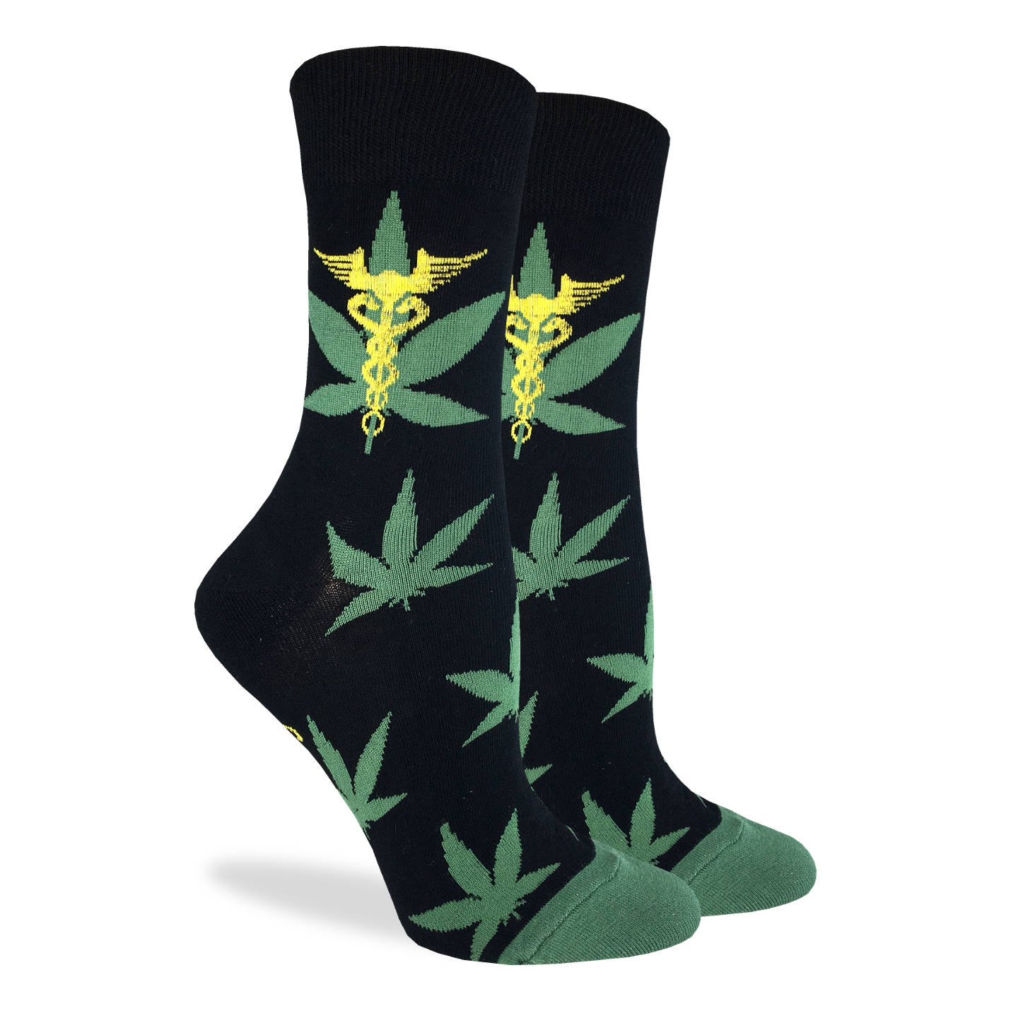 Women's Marijuana Leafs Socks - Good Luck Sock