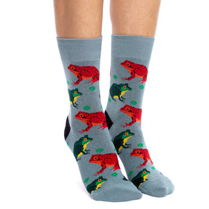 Women's Frogs Socks
