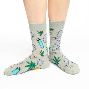 Women's Stoned Marijuana Socks