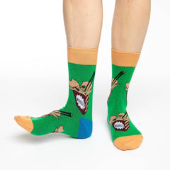 Women's Noodles Socks - Good Luck Sock