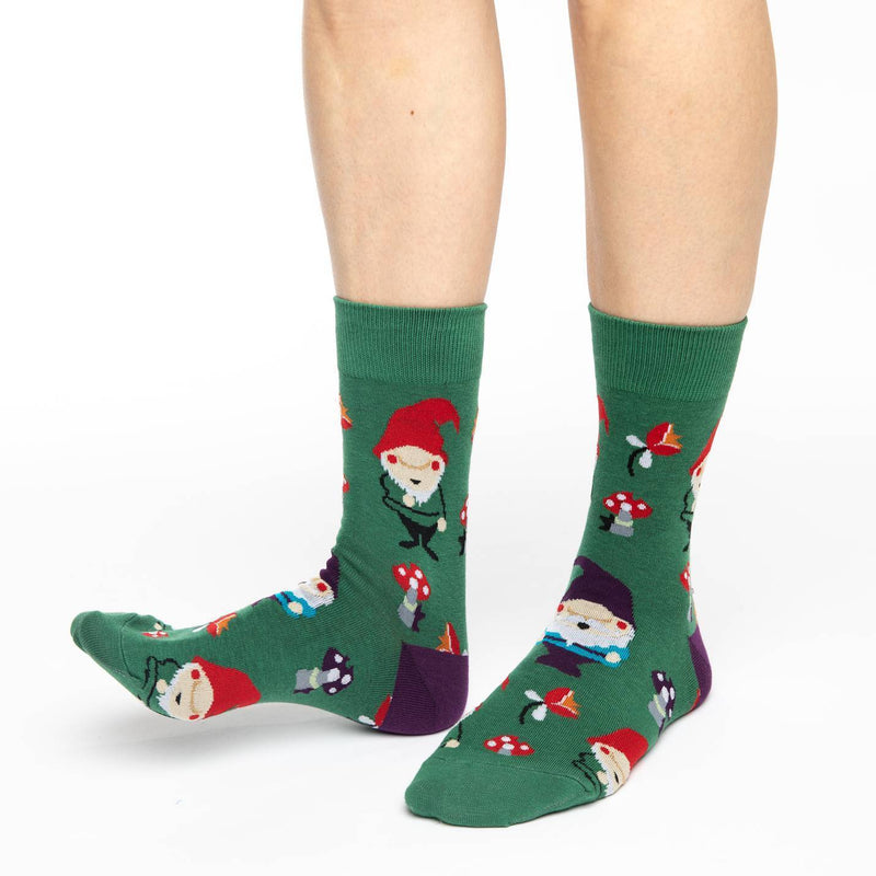 Women's Lawn Gnomes Socks