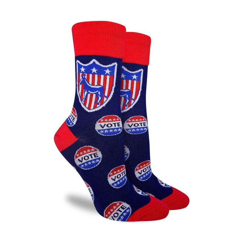 Women's Vote Democrat Socks