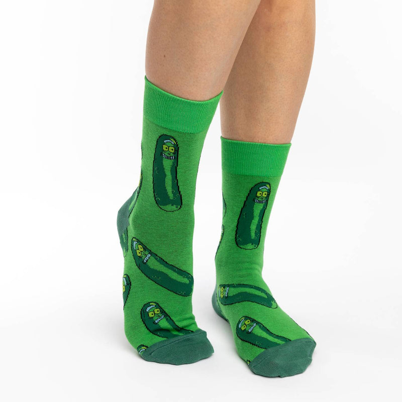 Women's Pickle Rick Socks