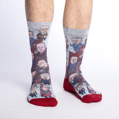 Men's Canadian Prime Ministers Socks - Good Luck Sock