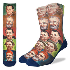 Men's Bill Murray Socks - Good Luck Sock