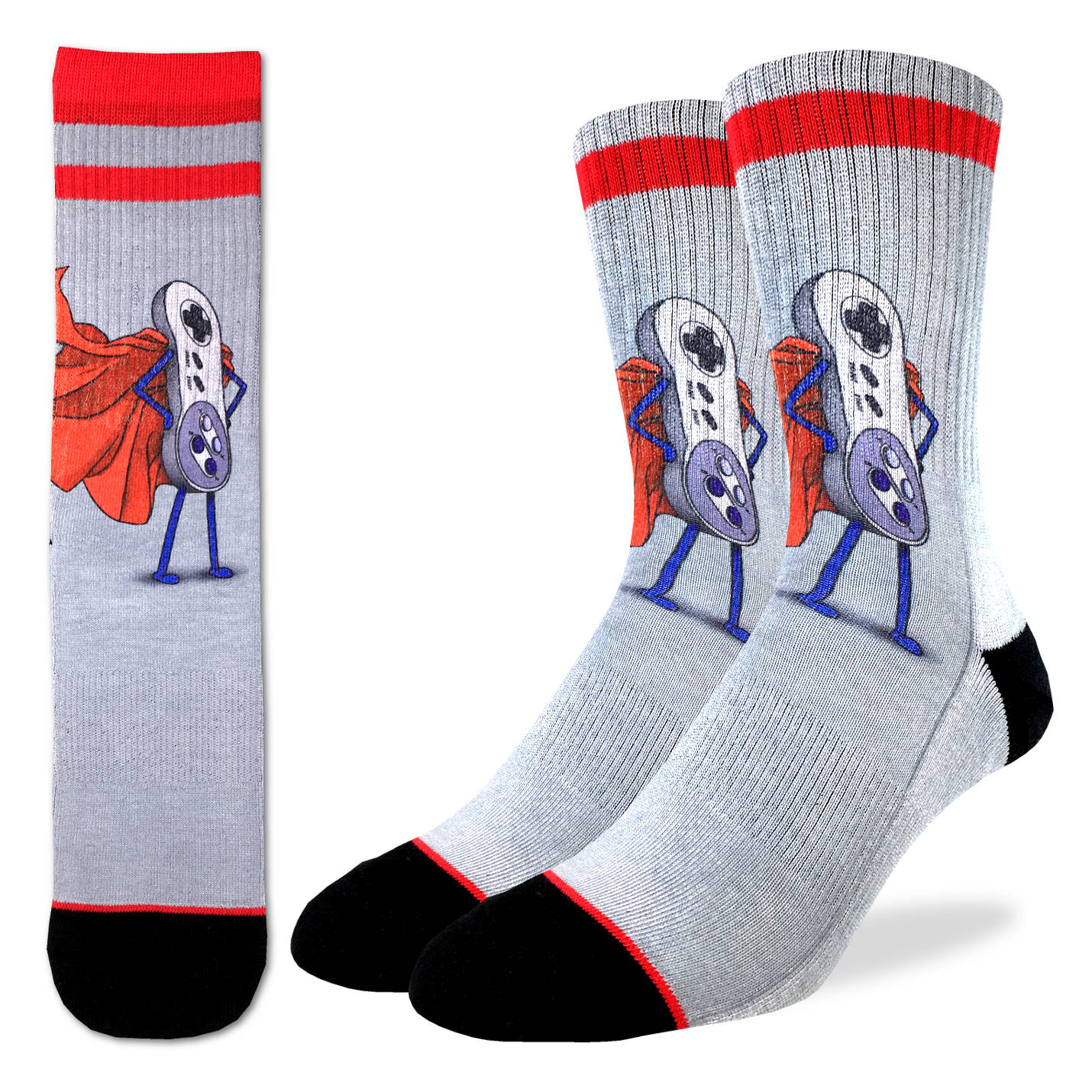 Men's Super NES Socks - Good Luck Sock