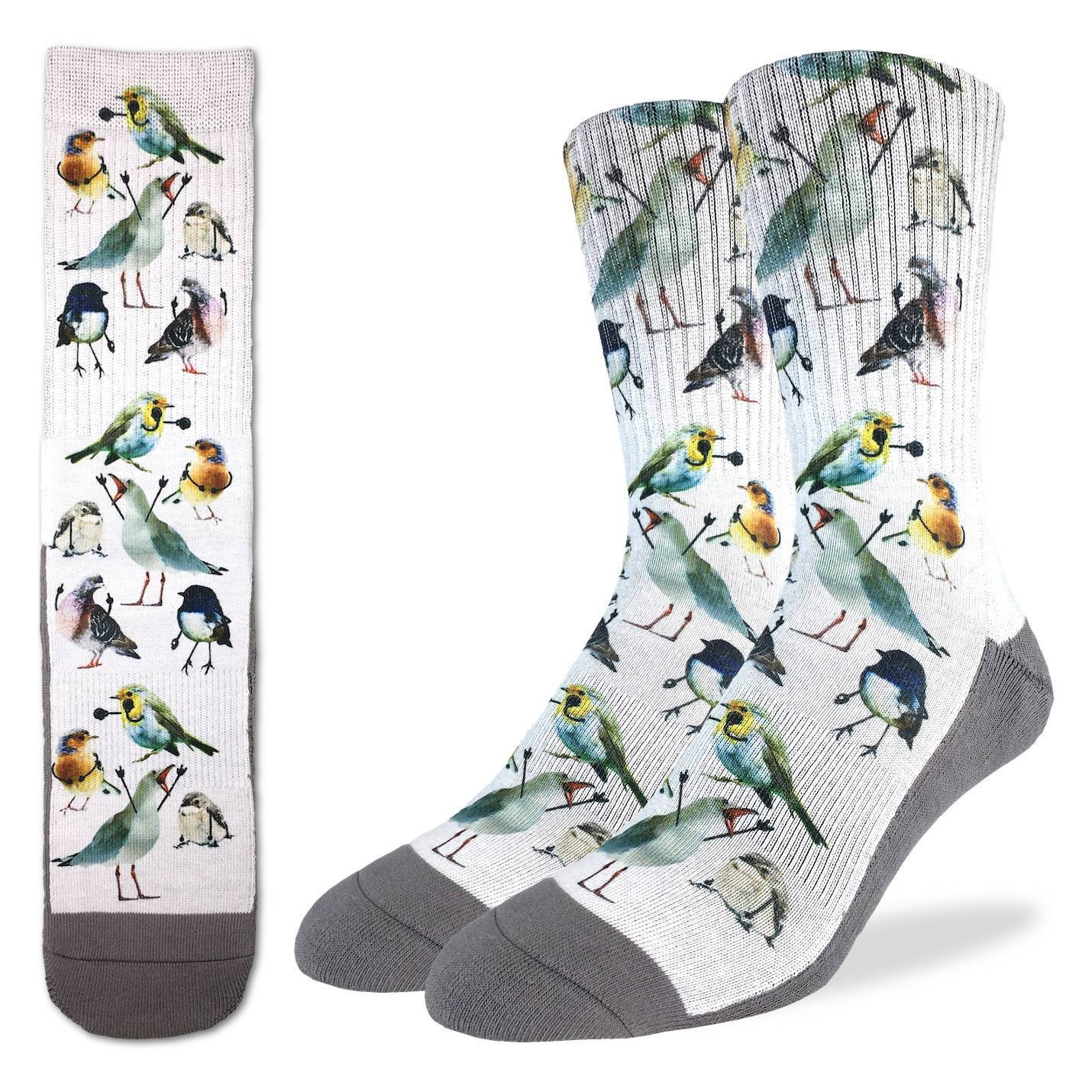 Men's Birds Socks - Good Luck Sock