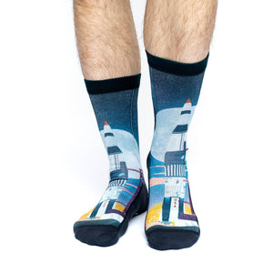 Men's Saturn V Rocket Launch Socks
