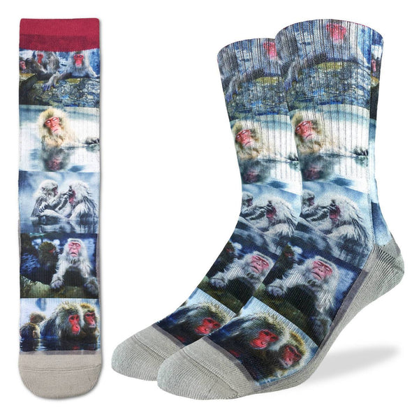 Men's Snow Monkeys Socks