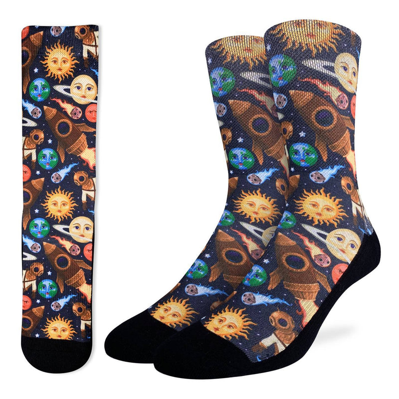 Men's Stars and Steampunk Socks