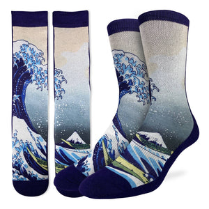 Men's The Great Wave off Kanagawa Socks