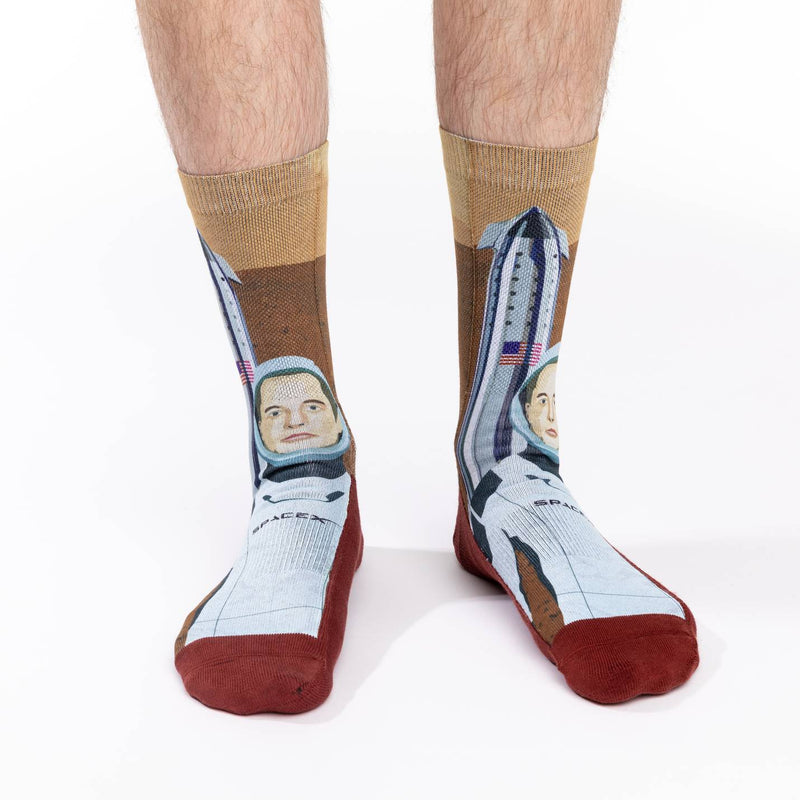Men's Elon Musk On Mars Socks