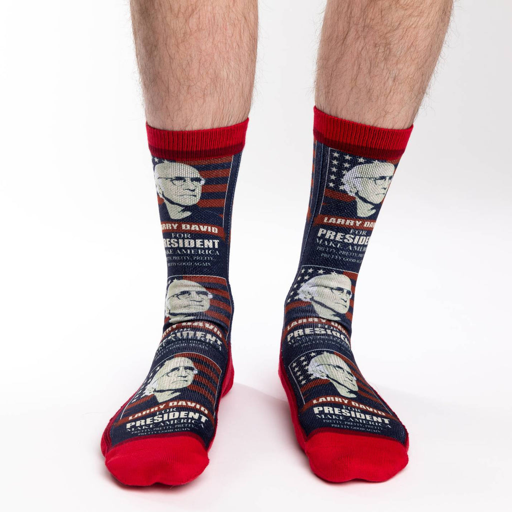 Men's Larry David for President Socks
