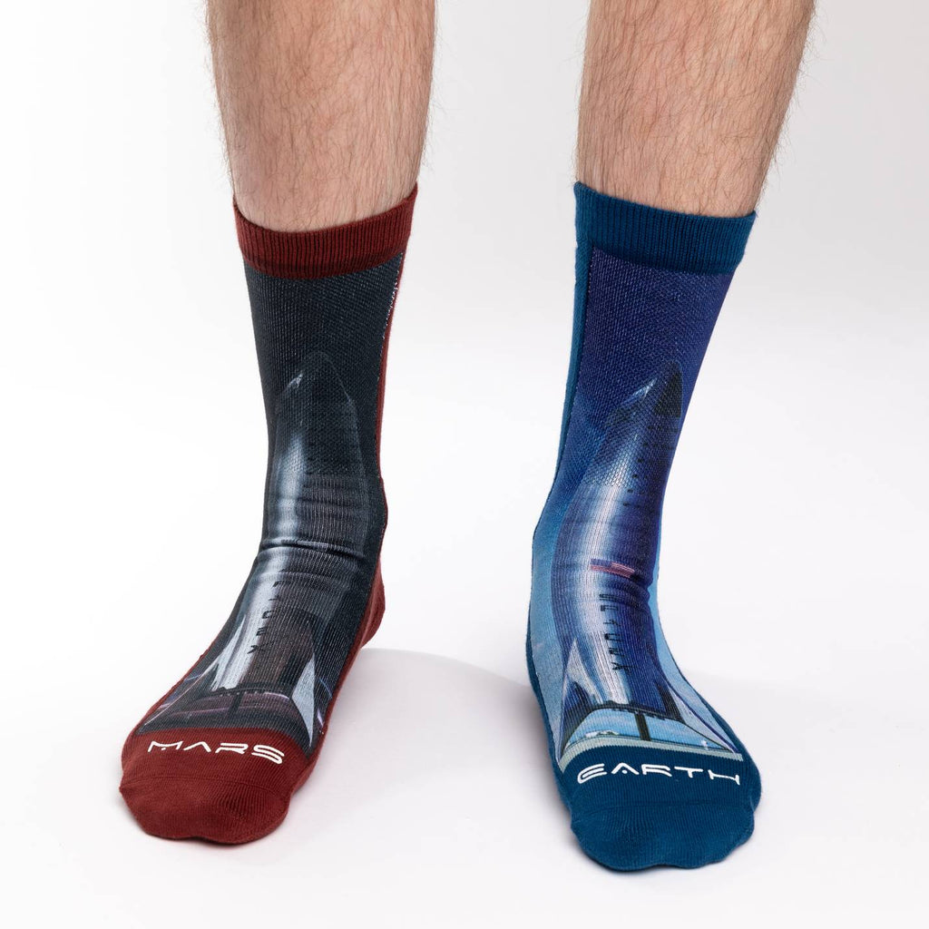 Men's Starship Rocket Socks
