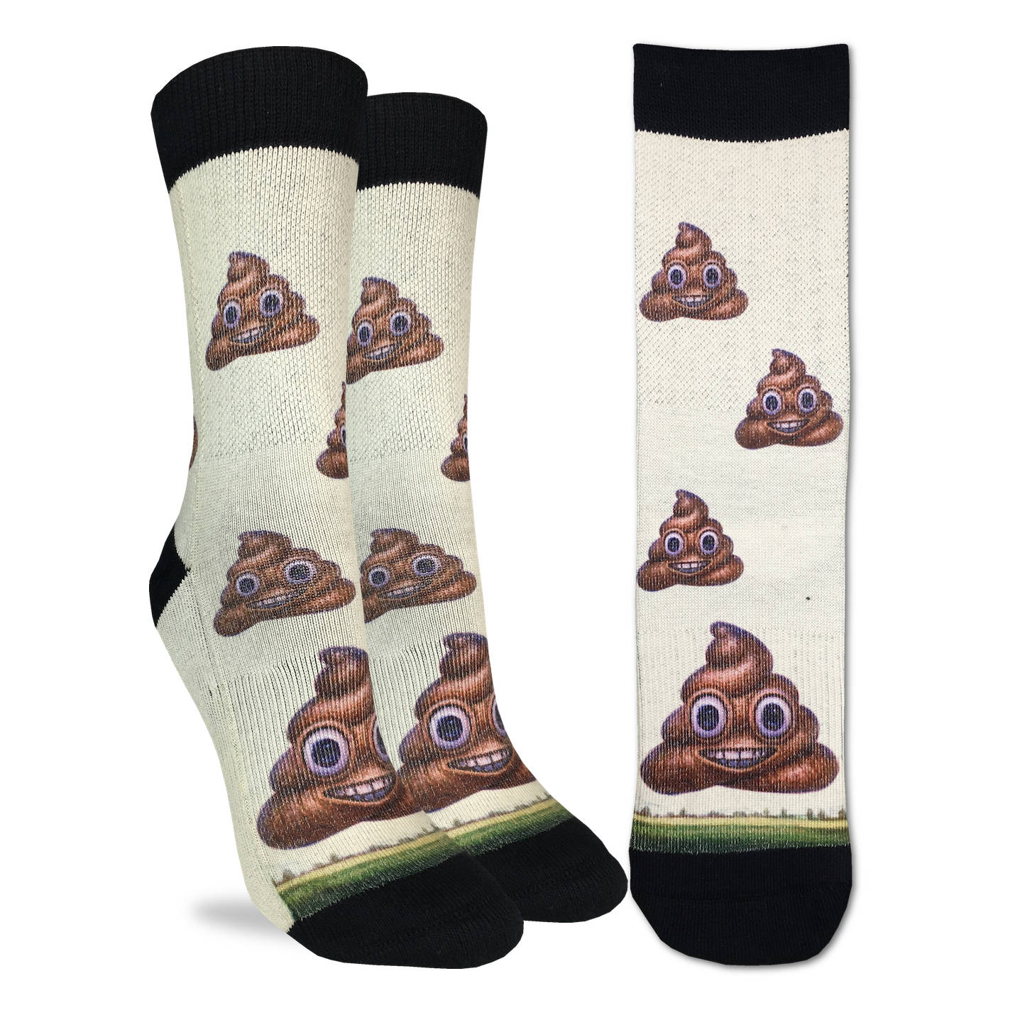 Women's Piles of Poop Socks - Good Luck Sock