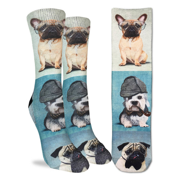 Women's Dashing Dogs Socks