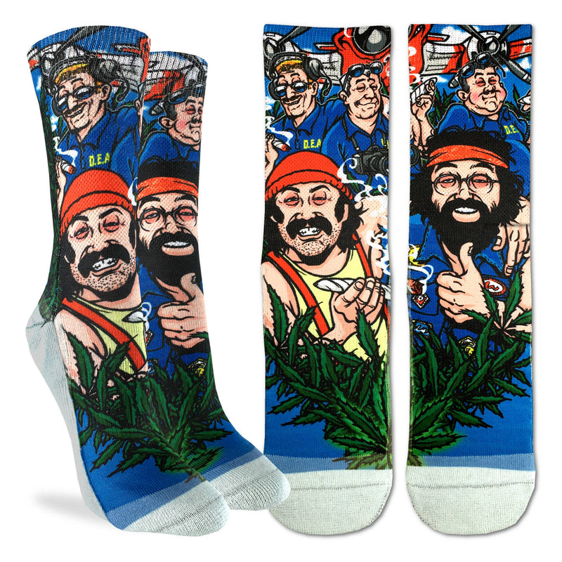Women's Cheech & Chong DEA Socks