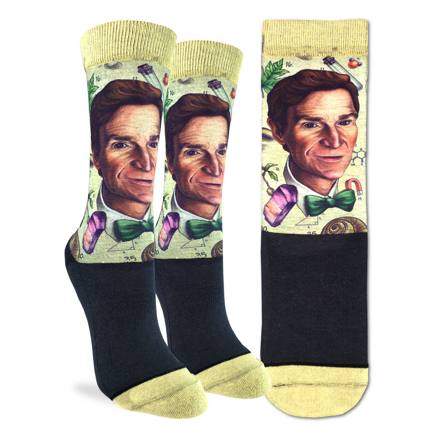 Women's Bill Nye Socks - Good Luck Sock