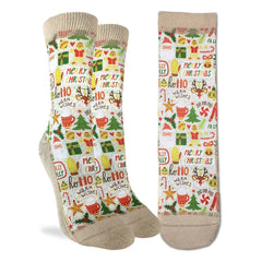 Women's Merry Christmas Socks - Good Luck Sock