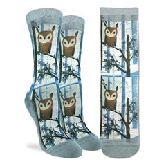 Women's Owl Socks - Good Luck Sock