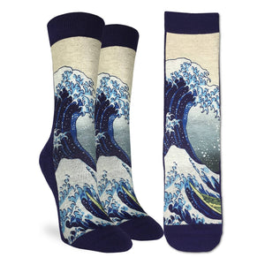 Women's The Great Wave off Kanagawa Socks