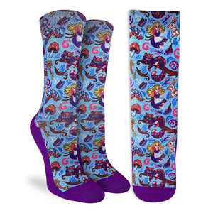 Women's Alice in Wonderland Socks