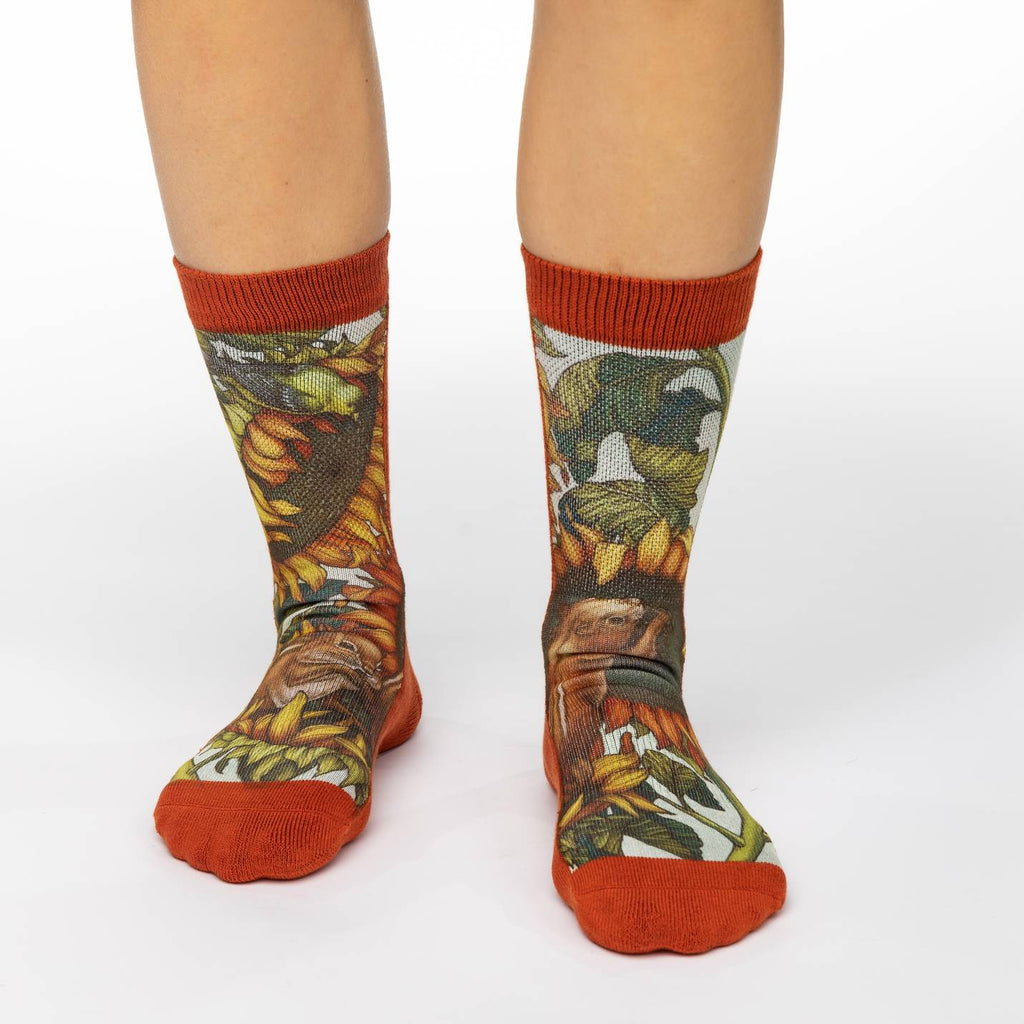 Women's Autumn Chipmunks Socks