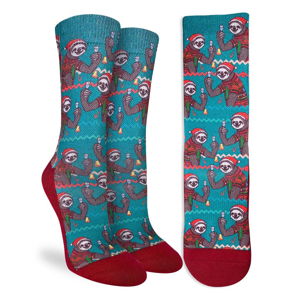 Women's Christmas Sloths Socks