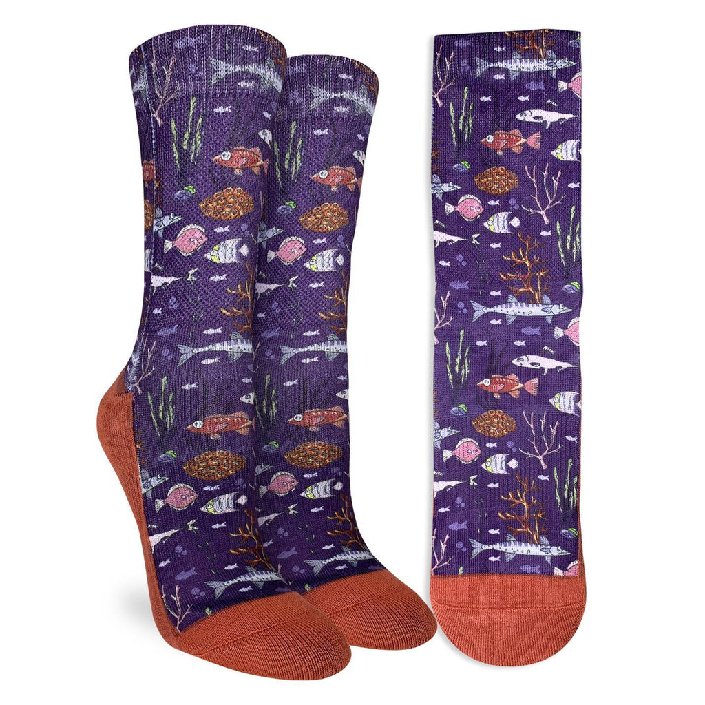 Women's Lake Fish Socks