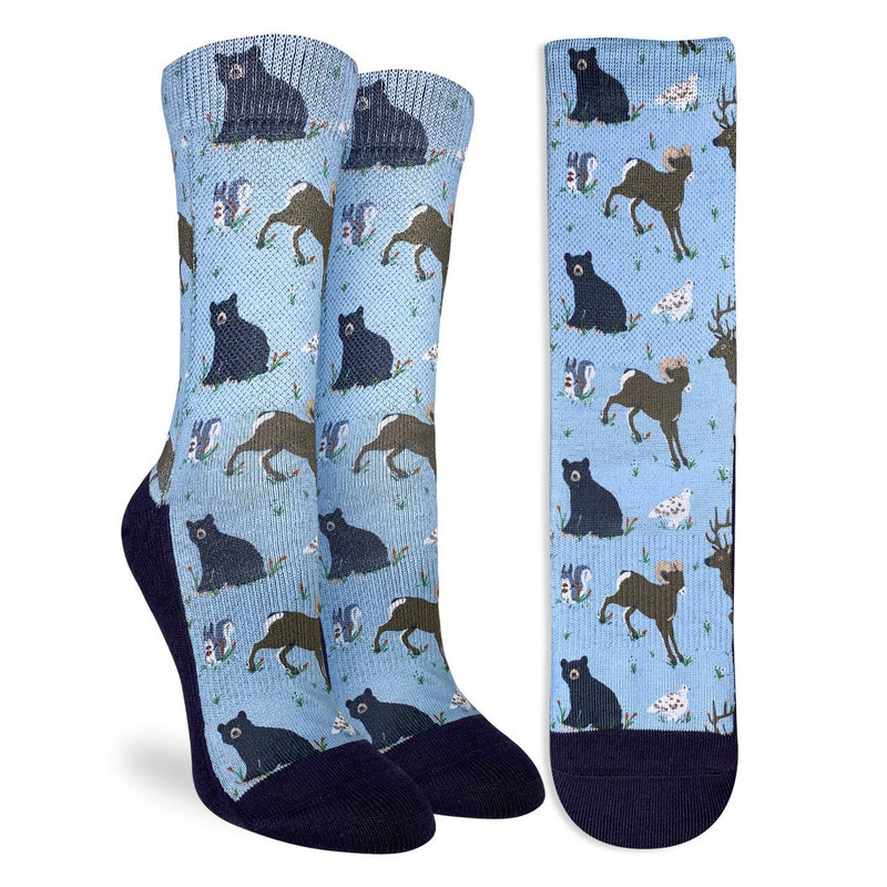 Women's Mountain Animals Socks