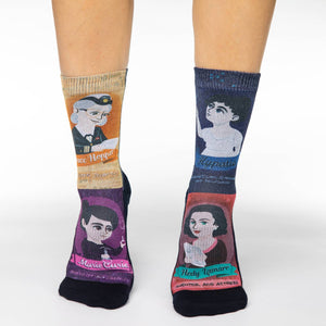 Women's Greatest Women in Science Socks