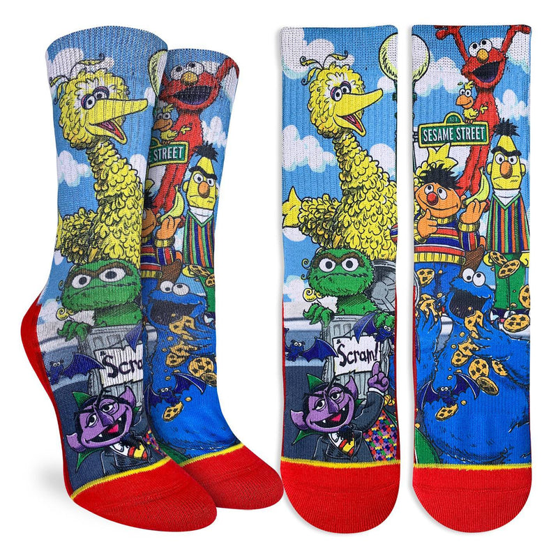 Women's Sesame Street Family Socks