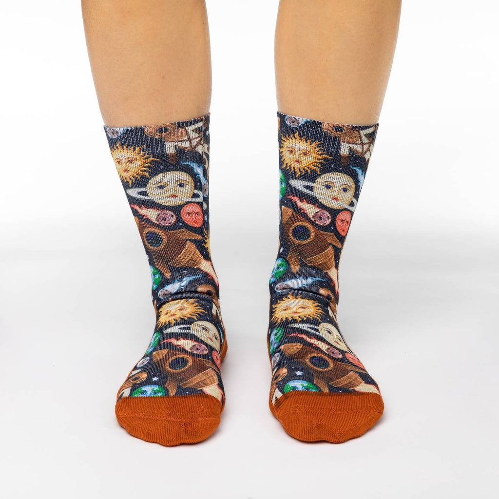 Women's Stars and Steampunk Socks