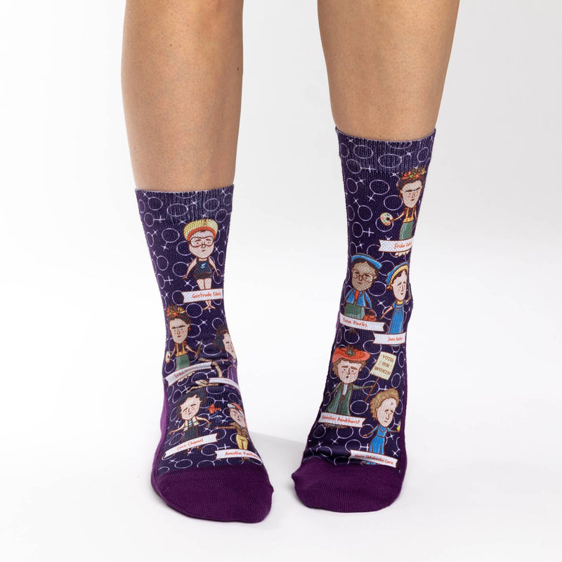 Women's Great Women in History Socks